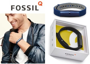 Flat 77% Off : Fossil Q Motion Smart Band at Rs.1599 [MRP Rs. 6995] discount deal