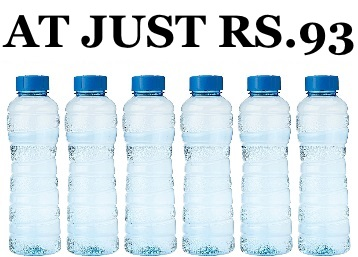 Princeware Victoria PET Fridge Bottle, 975 ml Set – 6 at Just Rs.93 (More Offers Inside) low price