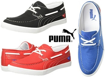 76c171219e8bb9 All Sizes  - Puma Ferry IDP Boat Shoes at Flat 80% OFF  MRP Rs. 4499 ...
