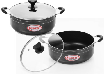 Mega Discount:- Sumeet Casserole with Glass Lid at Just Rs. 452 discount deal