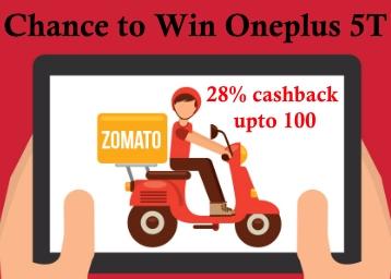 Cashback discount offer