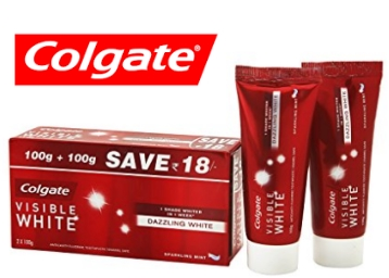 Best Buy :- Colgate Toothpaste Visible White Sparkling Mint – 200 g low price