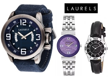 Best Buy:- Laurels Watches at Min. 75% OFF + Extra Rs. 75 Cashback discount deal