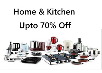 Home & Kitchen Products Min.50% off From Rs.40 + FREE Shipping low price