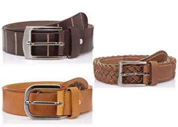 Mens Leather belt at Flat 80% Off From 219 only discount deal