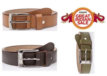 Mens Leather belt at Flat 80% Off From 219 only low price