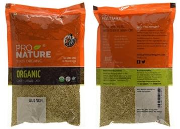 Pro Nature 100% Organic Quinoa, 500g at Flat 52% OFF low price