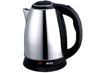 IKITZ Stainless Steel Cordless Electric Kettle at Flat 57% OFF discount deal