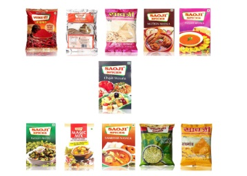 Kitchen Special:- Saoji Foods Pvt Ltd Masala Combo Pack of 11 at Rs. 237 discount deal