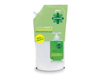 Godrej Protekt Masterchef's Handwash – 800 ml at Just Rs. 89 discount deal