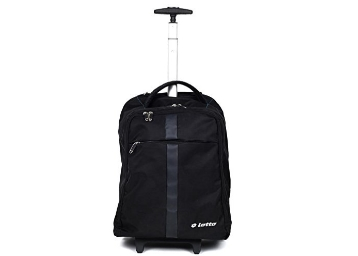 Lotto 50 Ltrs Black Laptop Roller Case at 81% Off discount deal