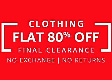 Final Clearance Sale on Amazon: Up to 80% Off at top brands low price