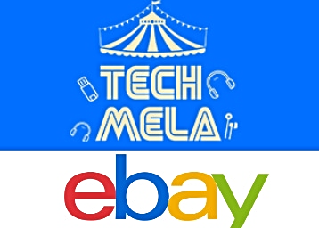 LAST DAY : Ebay Tech Mela – Products From Rs. 99 + 10% Off + 10% Cashback discount deal