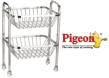 Flat 60% OFF on Pigeon Fruity 2 Fruit Trolley + Free Shipping low price