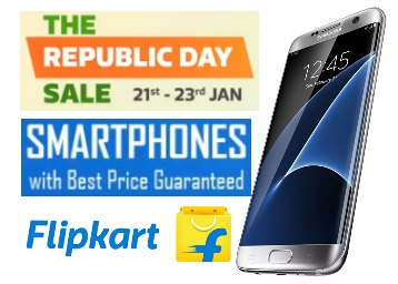 Best Mobile Offers on Flipkart Republic Day Sale [Samsung S7 EDGE & More) low price