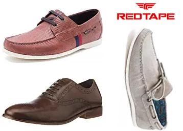 Redtape Men's Formal Footwear at Flat 70% OFF + Extra Rs. 75 Cashback low price