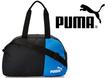 Puma Black and Team Power Blue Polyester Bag at Flat 60% OFF low price