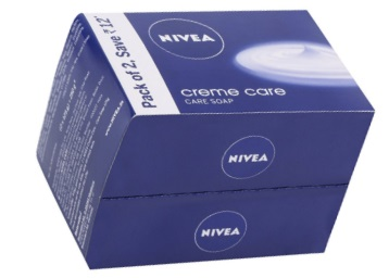 Flat 25% OFF:- Nivea Creme Care Soap, 125g (Pack of 2) + 10% Cashback discount deal