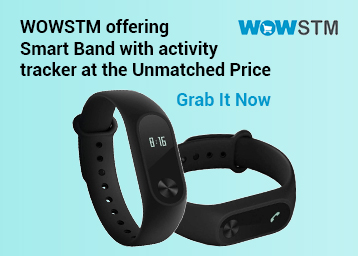 Stay Fit:- OWO F1 Smart Band Black at Big Discount [MRP Rs. 1799] discount deal