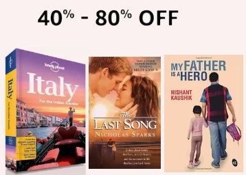 Best Selling:- Books at Min. 40% – 80% off + [Chetan Bhagat, Ruskin Bond & More] low price
