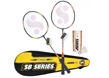 Good Deal:- Silvers SIL-SB220-COMBO2 Badminton Kit at Flat 52% off discount deal