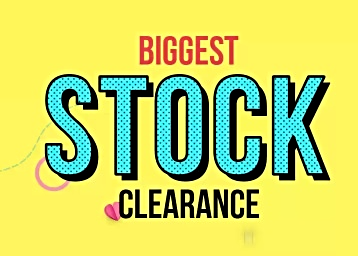 30ad9e0dad5 Biggest Stock Clearance - Clothing   More Lifestyle at Flat 50% - 90 ...