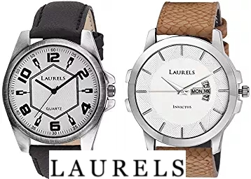 Flat 83% Off On Laurels Watches From Just Rs.199 + FREE Shipping discount deal