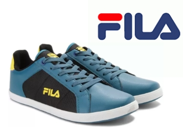 Fila FEDERIANO Sneakers For Men (Green) at 64% Off + 15% Cashback discount deal