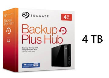 Lowest Ever:- Seagate Backup Plus Hub 4TB Drive at Biggest Discount low price