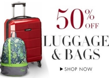 Bags, Luggage, Wallets, Belts & Accessories 50% Off From Rs. 140 low price