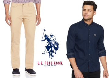 Good Discount – U.S. Polo Association Clothing 50% Off From Rs. 599 low price