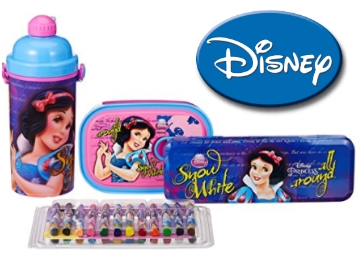 Disney Princess Snow White back to School stationery combo Flat 57% OFF low price
