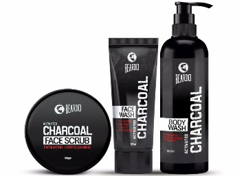 Flat 20% Off On Beardo Activated Charcoal Combo Set + FREE Shipping discount offer