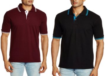 Albert and James Men's Polo T-Shirt at Flat Rs.269 low price