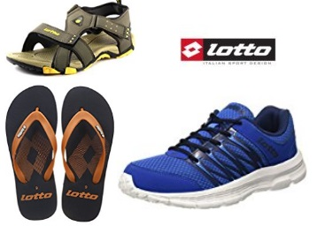 Must Buy:- LOTTO Footwear Range at Min. 55% off + Rs. 50 Cashback low price