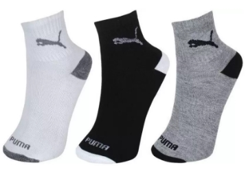 Puma Men & Women Ankle Length Socks (Pack of 3) at Flat 77% OFF low price
