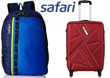 Must Buy:- Min. 60% OFF On Safari Luggage & Backpacks discount deal