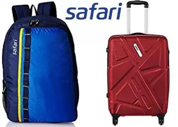 Must Buy:- Minimum 60% OFF On Safari Luggage & Backpacks + Free Shipping low price