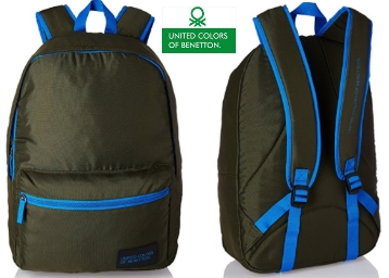 UCB Polyester 48 cms Dark Green Travel Duffle at Flat 71% OFF low price