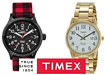 Big Discount- Timex Watches Minimum 60-80% Off + Free Shipping discount deal