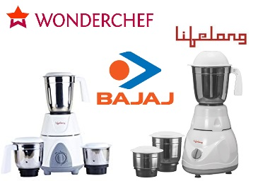 Mixer Grinders : 50% off or more From just Rs. 999 low price