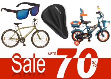 Sport of the Month:- Biggest Discount on Top Brand Cycles & Accessories low price