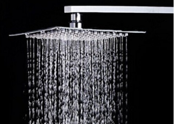 Zeya Stainless Steel Shower 4X4 Head Shower at Flat 91% off