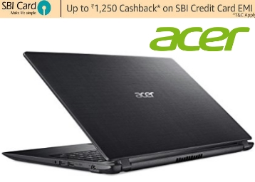 Acer A315-31 15.6-inch Laptop 2GB/500GB Integrated Graphics at Flat 32% OFF low price