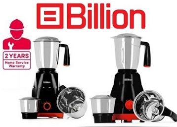Billion Fast Grind MG122 500 W Mixer Grinder [BestSeller] discount deal
