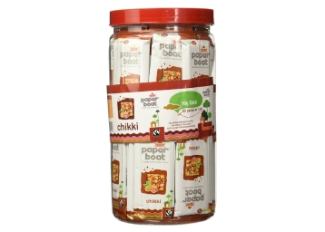 Paper Boat Chikki, 800g Pet Jar at Just Rs. 200 + FREE Shipping discount deal