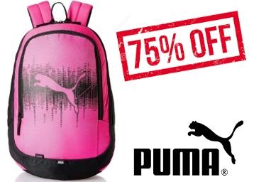 Price Down:- Puma 25 Ltrs Cabaret-Black Laptop Bag at Rs. 465 low price