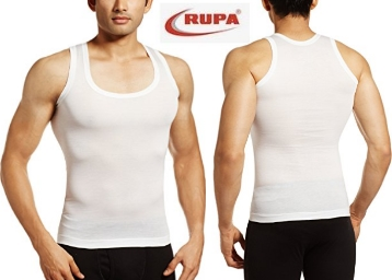 75 Size Only : Rupa Frontline Men's Cotton Vest at Just Rs. 56 discount deal