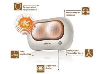 Lowest Price Ever : Omron HM-340 Cushion Massager at Flat 76% off low price