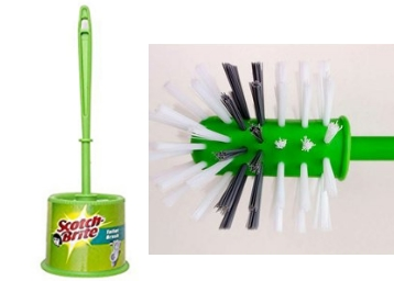 Scotch-Brite Round Toilet Brush with Holder at Flat 63% OFF discount deal